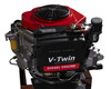 YM2V84, 15HP V-Twin Air cooled 2 cylinder horizontal/Vertical shaft v-twin small diesel engine v twin engine(15hp-20hp)