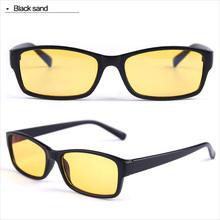 Exclusive de protection lunettes de lentilles jaunes lunettes informatiques 5061 sable noir