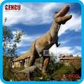 jurásico parque temático animatrónicos dinosaurio marioneta