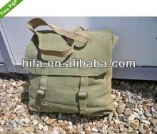 vintage military canvas bag