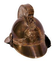 Antique Design Brass Fireman Helmet