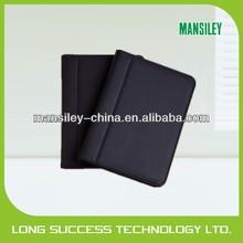 Mansiley leather 3 ring binders portfolios