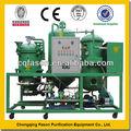 Filtragem de óleo usado máquina/usados de óleo sistema de limpeza/motor diesel purificadordeóleo