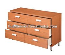 HX-MZ547 six drawer storage cabinet/ chest of drawer