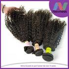 Good Shape Virgin Mongolian Kinky Curly Weave 3c 4a Hair