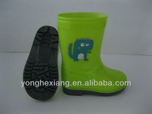 100% waterproof sweet color KIDS pvc rain boots