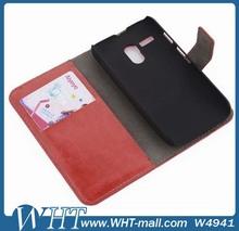 Cheapest Custom Cover Case for Moto G,for Motorola Moto g Leather Flip Case WHTS007