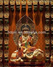 Custom popular elephant 3d Indian god poster