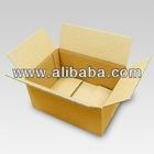 High quality corrugated cardboard box for keeping receipt