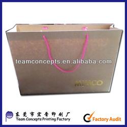 brown kraft paper bags raw materials of paper bag