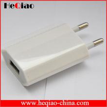 USB Wall Travel Charger EU Plug For iPhone / Samsung