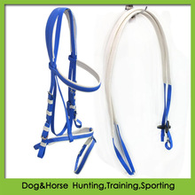 Horse equipment in PVC coated woven strap