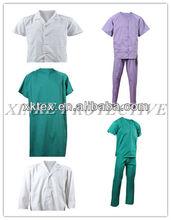 hot style white coat doctor for hospital