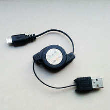 High Quality Retractable Micro USB Data Cable for Sync and Charging