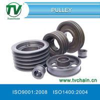 Taper bore pulley