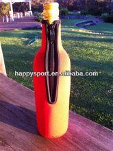 Neoprene wine bottle carrier tote bag