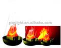 falsos de fuego de seda led luz de la llama