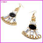 black popular drop earring
