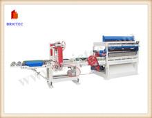 Automatic clay brick block cutting machine in hollow brick plant
