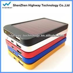 Digital solar charger for mobile