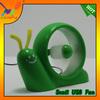 2014Popular mini snail USB fan,wonderful promotion snail desk gift Fan,factory directly hot sell snail USB fan.