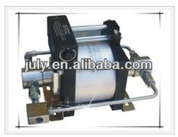 High quality JULY model :AT28 air driven liquid pump 220 Bar outlet pressure for CNG cylinder testing
