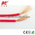 china fabricação de fios elétricos código de cor