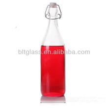Glass Beverage/Juice Milk Bottle 1000ml 500ml 250ml 200ml