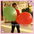 2014 hot sell top quality pastel large huge latex balloon