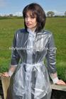 Fashion Transparent Womens PVC Raincoat