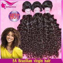 Flashing AAAAA Virgin Brazilian Hair Chinese kinky Curly