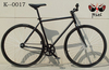 Cool~ALL BLACK!!!700C Fixed Gear Bike/Chinese road bicycle