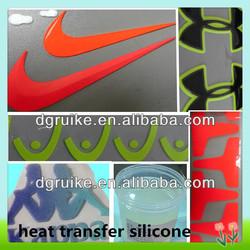 liquid silicone for heat transfer silicone label printing