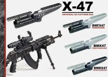 X47 Modular AK Rail