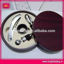 High qualiy metal deluxe wine bottle opener gift set
