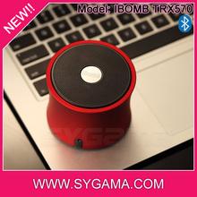 2014 hot selling Ibomb subwoofer 5W mini vibration bluetooth speaker