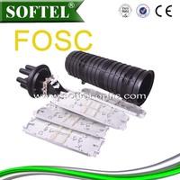 FOSC optical joint closure,fiber optic cable splice closure/fiber mechanical splicer,24 cores fiber optic closure/optic fibre