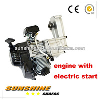 Mini Pocket Bike / Atv Quad / 49cc Dirt Bike Engine with transmission & electric start