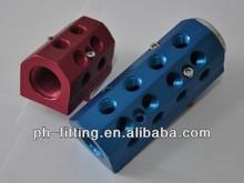PEHEL solenoid valve manifold /pneumatic plate