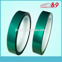 High temperature green PET tape