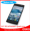 2014 mtk6589t quad core 5 inch android 4.2 new mobile phone neken n6