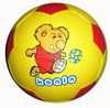 wholesale pricerubber ball rubber cartoon kids football