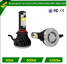 wholesale price above 1800lumen mitsubishi triton l200 led headlight projector