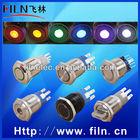 FILN metal 3 positon push button micro switch 5a 250vac 2NO2NC type