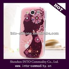 Purple Belle Case For Samsung Galaxy s3
