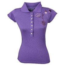 women's polo -T-shirt / women's embroidered T-shirt