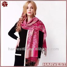 2014 Latest design printed wool scarf shawl
