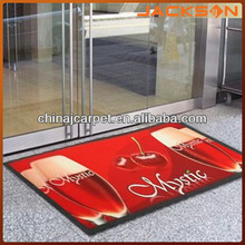 2014 hot sale elegance advertising rubber carpet