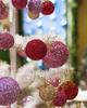 Christmas Balls, Glitter Styrofoam Christmas Balls