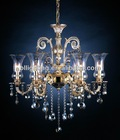 Traditional crystal light commercial chandelier light